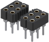 Rectangular Connectors - Headers, Receptacles, Female Sockets -- ED8054-96-ND