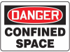 Danger: Confined Space Signs -- GO-41014-52