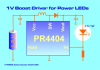 Low Voltage Boost Driver -- PR4404