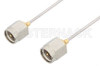 SMA Male to SMA Male Cable 24 Inch Length Using PE-SR047AL Coax -- PE3387-24 -Image