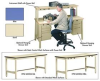 Technical Workstations -- HTW-723634-SA-BL -Image