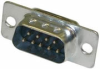 D-Subminiature, 9 Pin Male Solder Connector w/o Hood -- CD-9709M