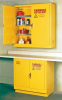 Eagle 24 gal Yellow Hazardous Material Storage Cabinet - 43 in Width - 44 in Height - Wall Mount - 048441-33392 -- 048441-33392