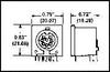 TE CONNECTIVITY / AMP - 5211450-1 - CONNECTOR, DIN AUDIO, RECEPTACLE, 5WAY -- 132646