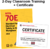 NFPA 70E: Electrical Safety in the Workplace (2018) 2-day Classroom Training with Certificate of Educational Achievement - Image