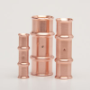 "Copper Press Fittings -- 5/8"" Couplings -- View Larger Image"