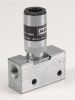 Air Pilot Valve,3 Way,2 pos, 1/8 NPT, -- 1XWU1 - Image