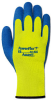 PowerFlex(R) To Hi Viz Yellow(TM); Terry loop out acrylic liner, natural latex coating; Size 8 -- 076490-06419