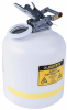 Justrite Translucent Liquid Disposal Can -- GO-86395-24