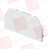 PANDUIT T45ECIW ( (PRICE/PC),T-45 END CAP FITTING ,T-45 END CAP FITTING, OFF WHITE. )