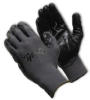 G-Tek(R) Value & Performance, Economy Grade Black Foam Nitrile, Coated Palm & Finger Tips, Gray Seamless Knit Nylon Liner, Small -- 616314-17902
