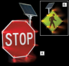 TAPCO Solar Powered Blinker Signs -- 5997500