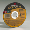GoldCut Reinforced Aluminum Oxide Abrasive T01 -- Right Angle Grinder Cut-off Wheels