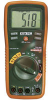 Multimeter; 0.1 mV to 600 V Voltage, Range, DC; 0.01 nF to 100 uF -- 70117338