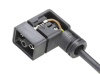 Series M-B - Solenoid Connectors Style B -- Female Power Connector, PUR Overmolded