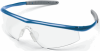 Crews Tremor Safety Glasses with Indigo Blue Frame and Clear -- TM120