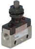 Valve, mechanical actuator - flat head push button, 2 port -- 70070658