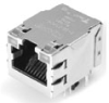 TE Connectivity 1605744-8 Integrated Magnetic, Stacked (Mag45™) and Power over Ethernet (PoE) -- 1605744-8