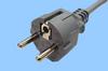 Gray Continental European Powercord -- 86230490-Image