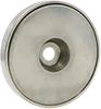 Nickel Coated Neo Round Magnet Base