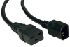 Heavy-Duty Power Cord, 15A, 14AWG (IEC-320-C19 to IEC-320-C14) 2-ft. -- P047-002