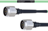 Temperature Conditioned Low Loss N Male to N Male Cable LL160 Coax in 12 Inch -- FMHR0219-12 -Image