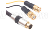 Assembled S-Video Cable, Male / Dual BNC Male, 5.0 ft -- CCD244MB-5