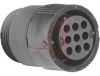 Connector, 11-9 Plug, Mini, Circular Plastic, Large insulated -- 70086185