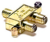 2 Way 900MHz F Splitter Gold -- 90-10112