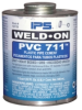 IPS Weld-On 711 PVC Cement -- 28291 -- View Larger Image