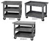 Plastic Mobile Carts -- HPFTC4026-33-3 -Image
