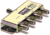 4 Way 2GHz Satellite Splitter -- 90-10118
