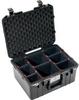 Pelican 1557 Air Case with TrekPak Dividers - Black   SPECIAL PRICE IN CART -- PEL-015570-0050-110 -Image