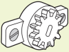 Damper - Large Gear Ratio