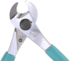 Excelta Three Star Cable / Tubing Cutter Shear Carbon Steel Shear Cutting Plier 51I-6DP - 6 in Length - Foam Cushion Grip -- EXCELTA 51I-6DP