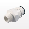 Coupling Insert, Straight Thru In-Line Pipe Thread; NSF Version: NSF82500 -- HFC241235 -- View Larger Image