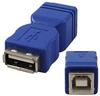 A Female to B Female USB Gender Changer -- 85-662 - Image