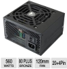 Cougar COUGARA560 A Series ATX Power Supply - 560W, 80 Plus -- COUGARA560