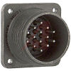 connector,box mounting receptacle,size 20,class r,14#16 solder pin contact -- 70009972 - Image
