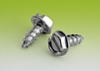Slotted Indented Hex Washer Tapping Screws Type A -- 10N50TYA4/SW