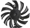 1.20 Watt (W) Power PLD08010B-C Series Type C Frameless Fan -- PLD08010B12L-C -Image