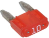 Fuse;Automotive;Fast Acting;10A;Blade;32VAC/VDC;Socket;MINI -- 70184065 - Image