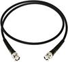 Coax Cable Male BNC's & Strain Reliefs, 1 Foot -- BU-P2249-C-12
