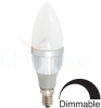 Candle Dimmable LED Light Bulb (3.5-Watt, CREE XPG LED) -- LW10-8312CC-CW3H1DM2