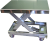 Stainless Steel Portable Lift Table