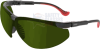 Uvex XC Safety Glasses with Black Frame and Shade 3 Welding -- S3306