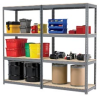 RELIUS SOLUTIONS Complete Double-Rivet Shelving with Particleboard Decking -- 6021100