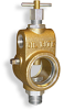 "Universal Sight Feed Valve, 1/2"" Female NPT Inlet, 1/2"" Male NPT Outlet, T-Handle -- B2501-3 -Image"