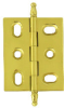 Steeple Tipped Hinge, Solid Brass -- 826226