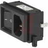 Module, Pwr Entry;AC Inlet with Line Switch;Screw-On Mt;250VAC;Rocker -- 70080785